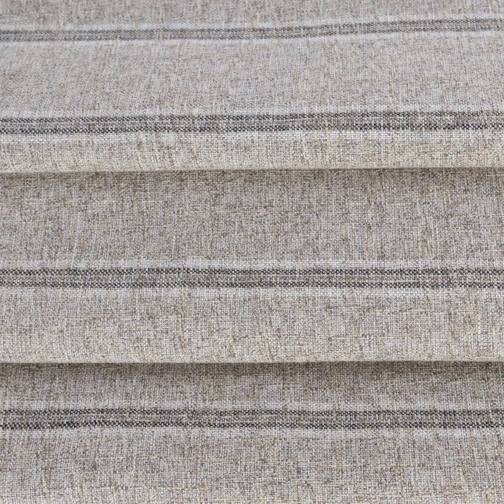 Yarmouth Stripe Fabric, Zinc