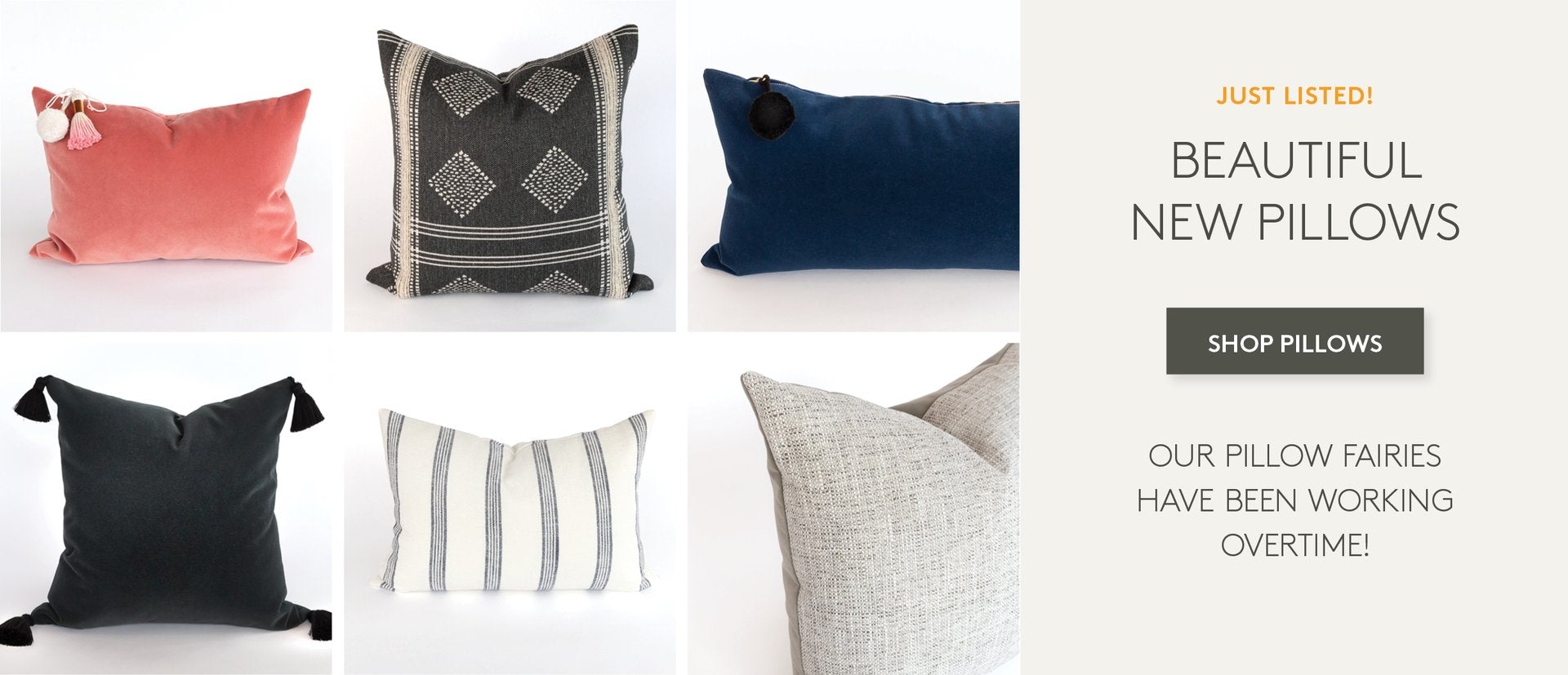Pillows from Tonic Living