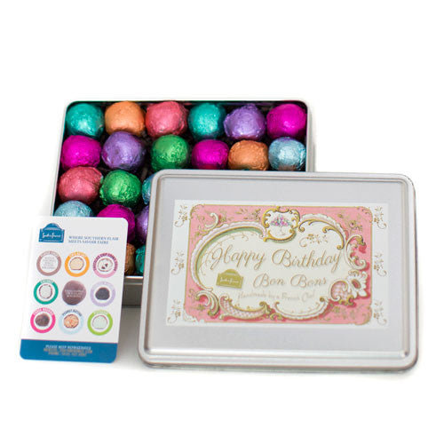 30 Piece Birthday Tin (Pink)