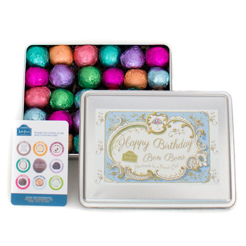 30 Piece Birthday Tin (Blue)