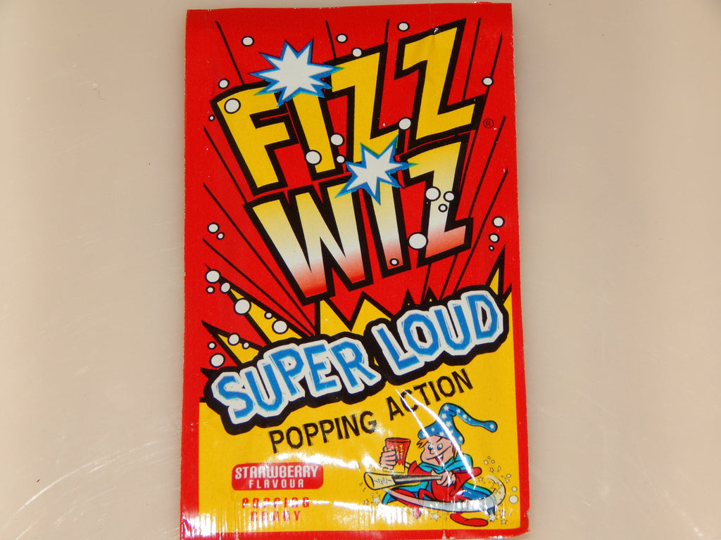 Fizz wiz-strawberry x 4