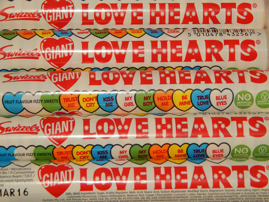 Giant love hearts x 5