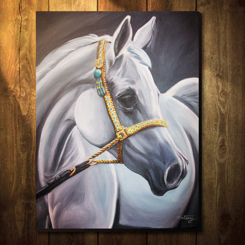 Bridled - Original Painting