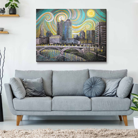 Starry Night Columbus - Original Painting