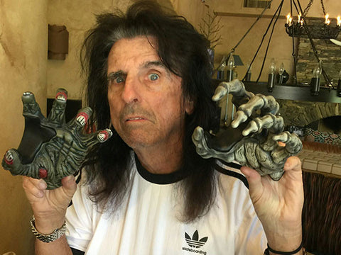 Alice Cooper and his GuitarGrip Guitar Hanger