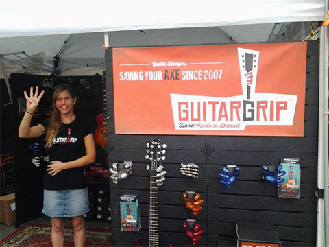 Guitar Hangers at Art Festivals
