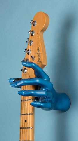 Blue Female Hand GuitarGrip