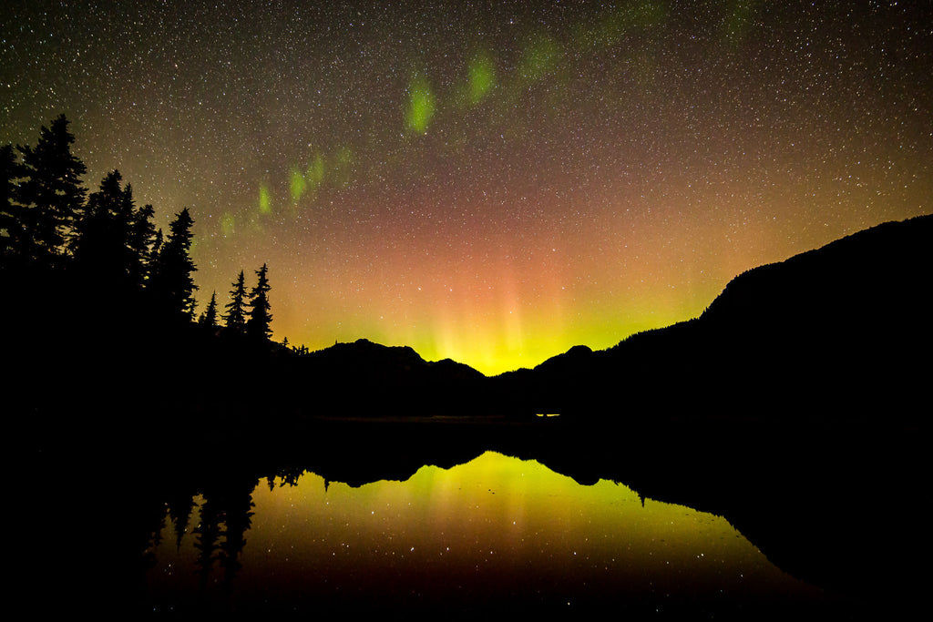"gosko photo ""Callaghan Lake aurora"""