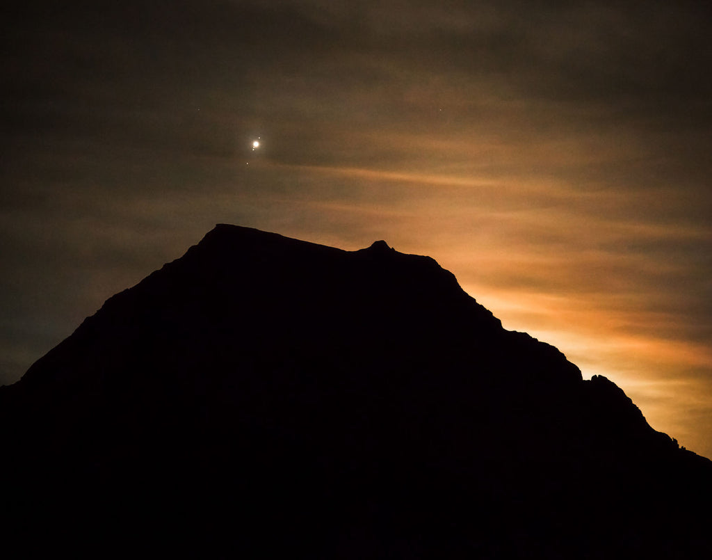 "gosko photo ""Jupiter and moons over Wedge"""