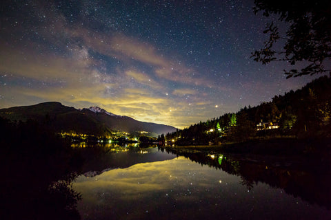 "gosko photo ""Stars over Alta Lake"""