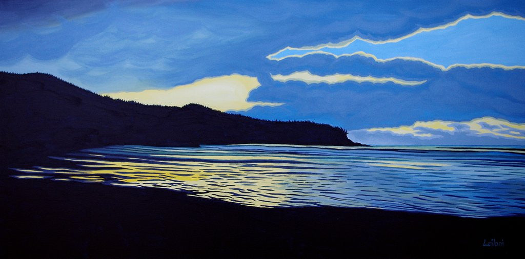 "Leilani ""Cox Bay Reflections"" 24"""