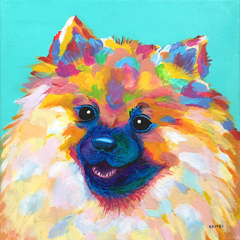 "Claudia Bambi ""Wippet the Pomeranian"""""