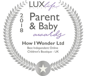 Wow - Best Independent online U.K Childrens Retailer at The Lux Life Parent and Baby Awards 2018