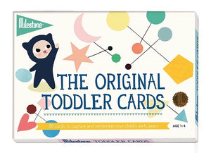 Milestone - Toddler Memory Cards - how-i-wonder