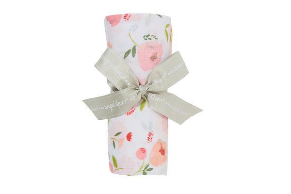 Angel Dear - Pretty In Pink - Muslin Swaddle