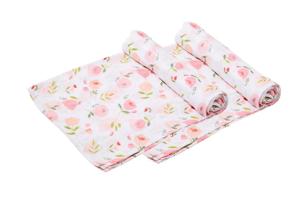 Angel Dear - Pretty In Pink Duo - Muslin Swaddle