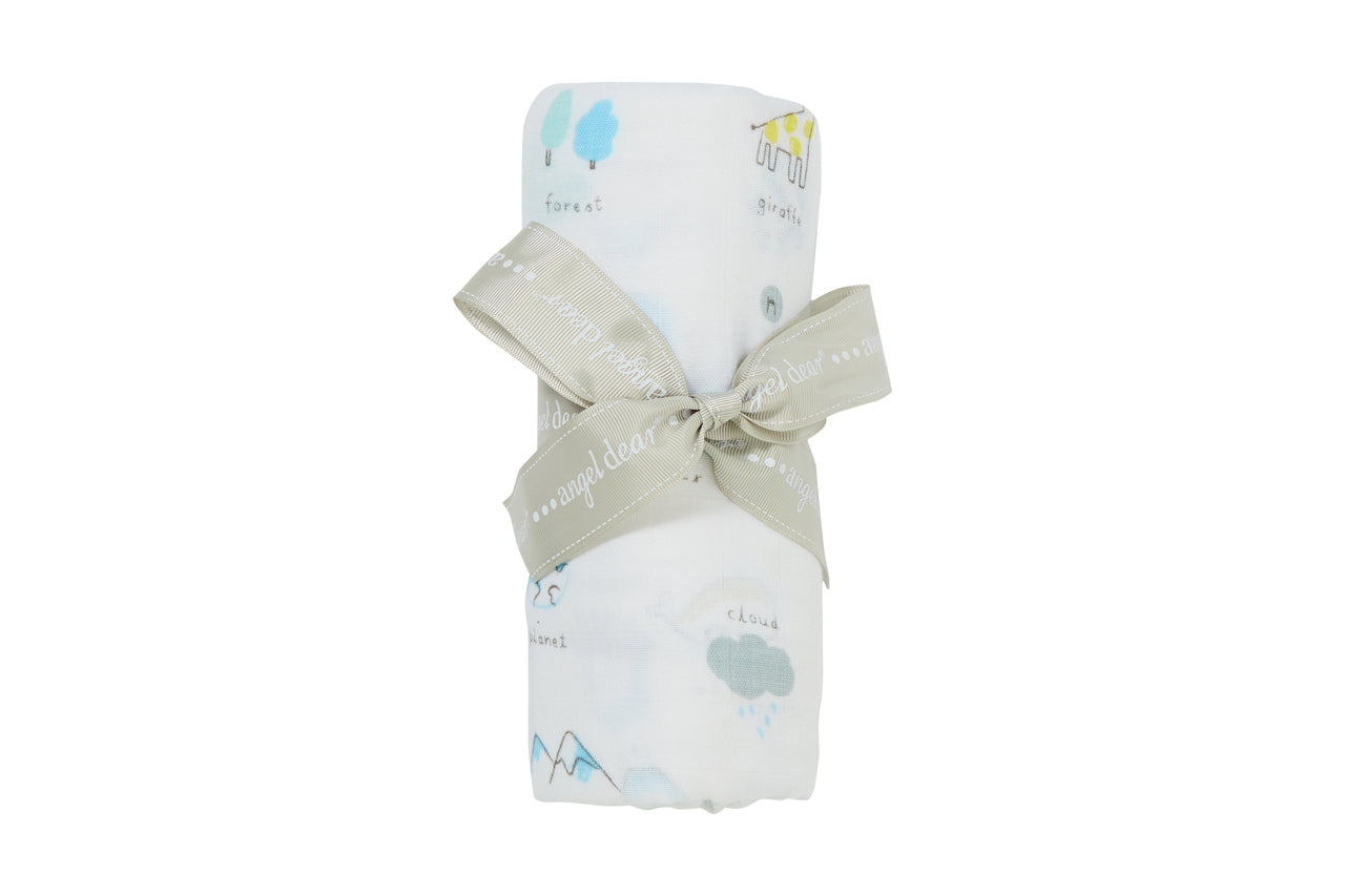 I Love My Planet - Swaddle - Angel Dear - how-i-wonder