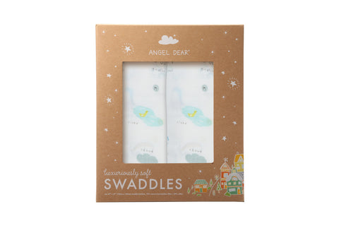 I Love My Planet - Swaddle Duo - Angel Dear - how-i-wonder