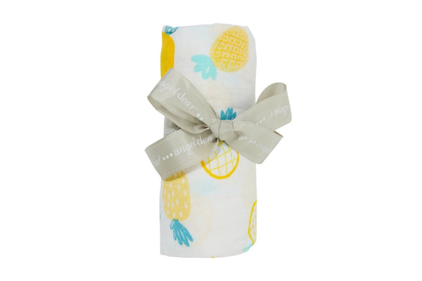 Pineapple - Swaddle - Angel Dear - how-i-wonder