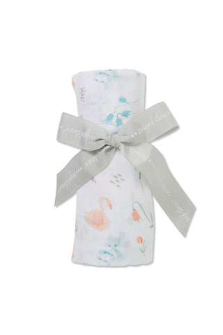Swan - Swaddle - Angel Dear - how-i-wonder