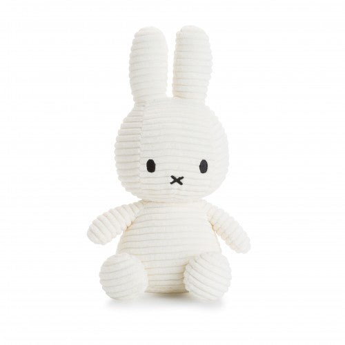 Miffy Corduroy Soft Toy 24cm - white - how-i-wonder