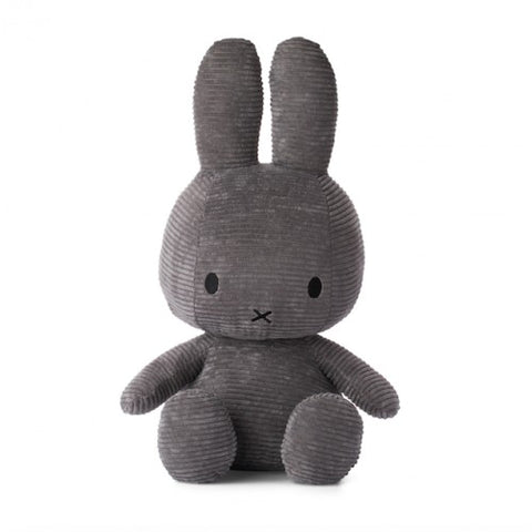 Corduroy Soft Toy 50cm - Grey