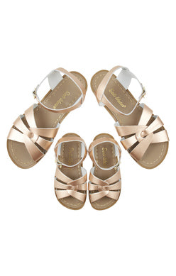 Saltwater Sandals - Child - Rose Gold