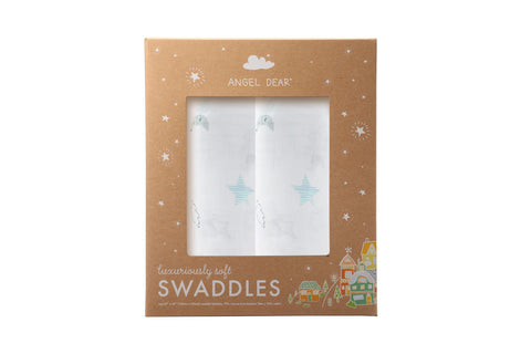 Starry Night - Swaddle Duo - Angel Dear - how-i-wonder