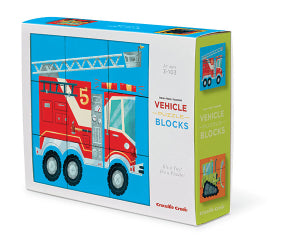 Block Puzzle - Make A Vehicle - Crocodile Creek
