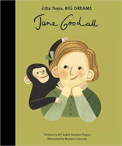 Jane Goodall - Little People Big Dreams - how-i-wonder