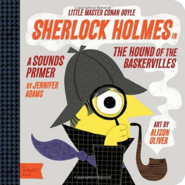 Sherlock Holmes - Board Books for Toddlers - How I Wonder.co.uk - 1