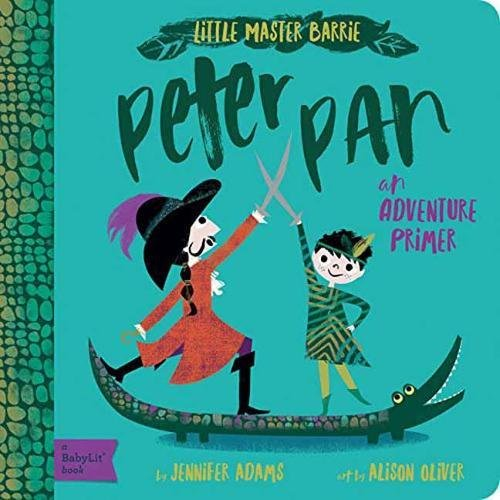 Peter Pan - Babylit - Board Books for Toddlers - how-i-wonder
