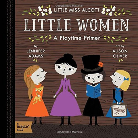 Little Women - Babylit - Board Books for Toddlers - how-i-wonder