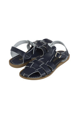 Shark Saltwater - Toddler Sandals - Navy - how-i-wonder