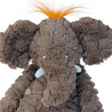 Plush soft toys - Moulin Roty Bazar Collection - Elephant - How I Wonder.co.uk - 2