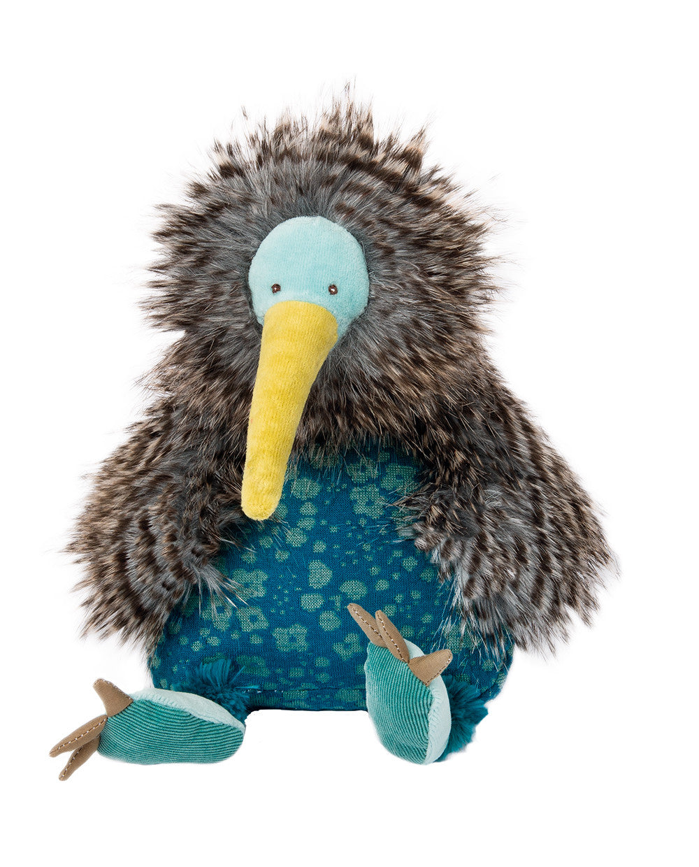 Plush soft toys - Moulin Roty Bazar Collection - Kiwi Bird - How I Wonder.co.uk