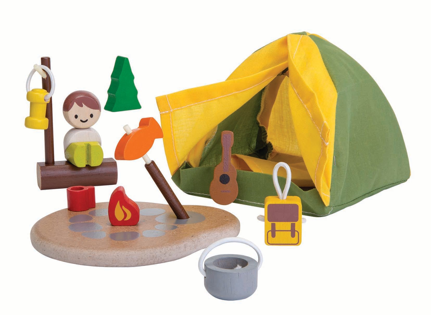 Plan Toys Camping Set- How I Wonder