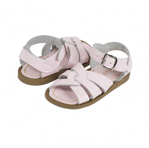 Original Saltwater Sandals - Youth -Shiny Pale Pink - how-i-wonder