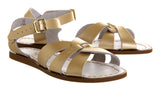 Saltwater Original Sandals - Gold - Womens