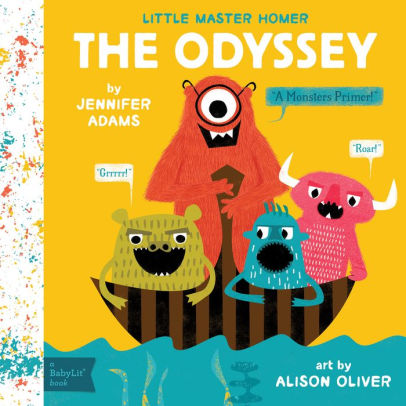 The Odyssey - Babylit - Board Books for Toddlers - how-i-wonder