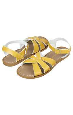 Original Saltwater Sandals -  Womens - Mustard - how-i-wonder