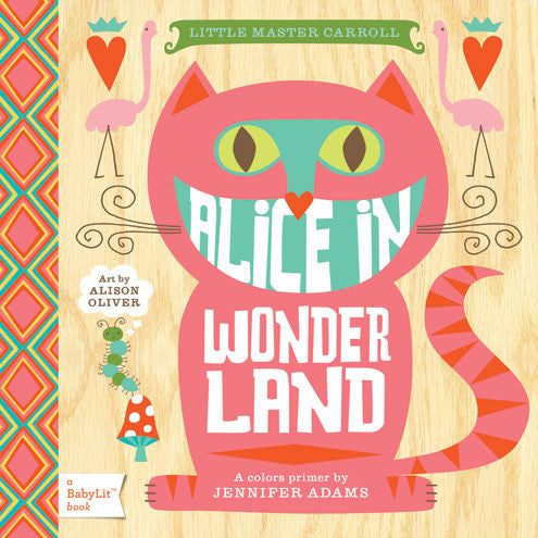 Alice In Wonderland - Board Books for Toddlers - How I Wonder.co.uk - 1
