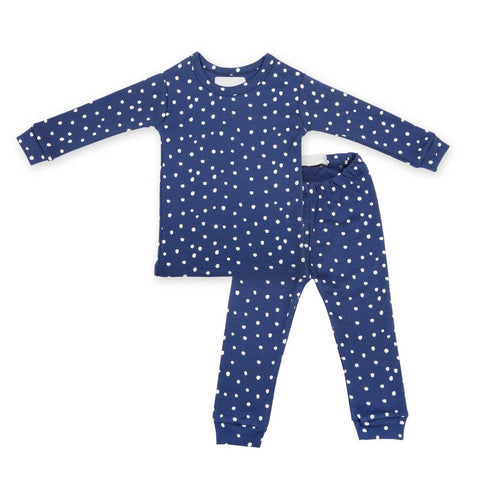 Midnight Blue & White Spot - Pyjamas - Bob & Blossom - how-i-wonder