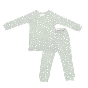 Moss Grey & White Spot - Pyjamas - Bob & Blossom - how-i-wonder