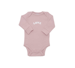 Love - Baby Body Suit - Bob & Blossom - how-i-wonder