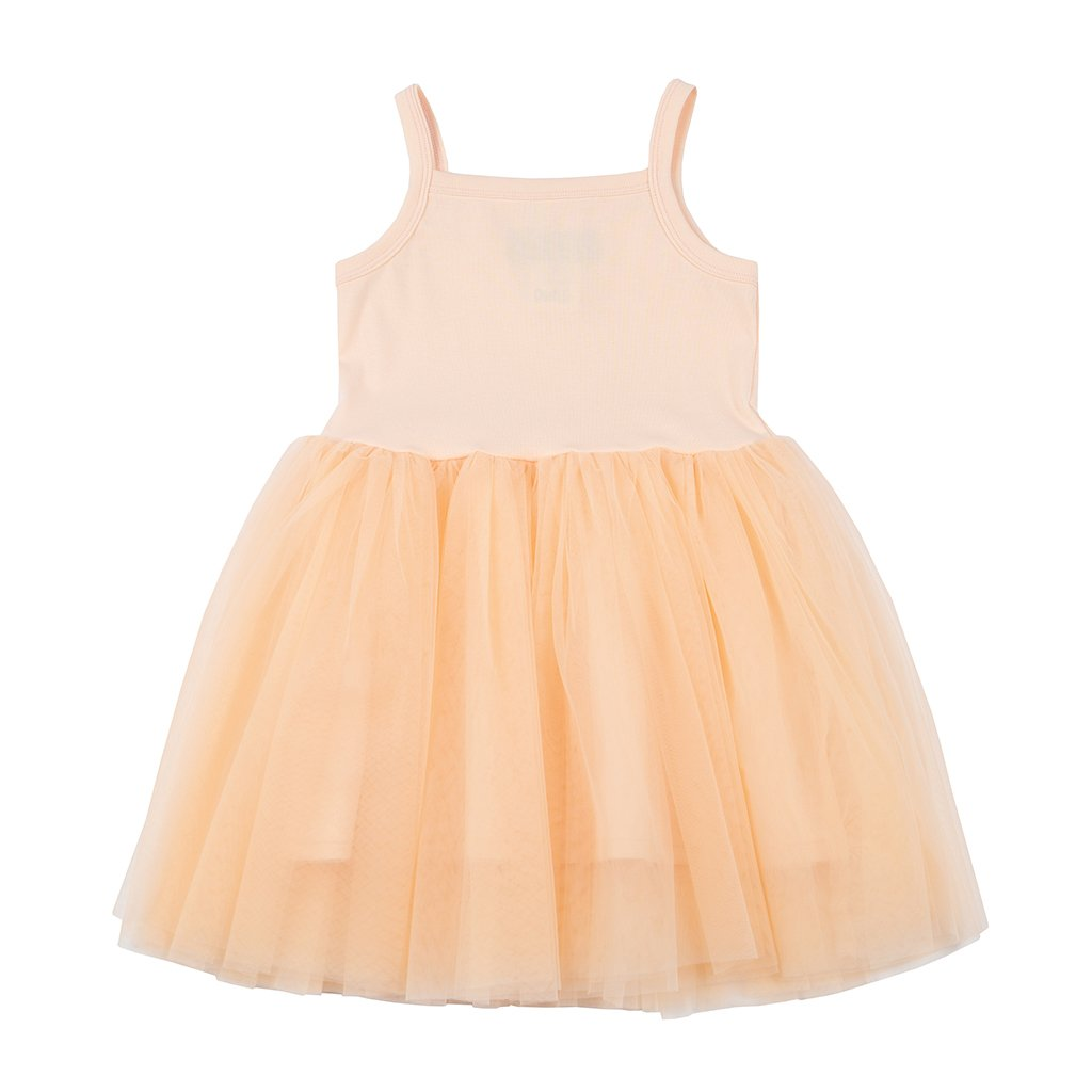 Apricot - Tutu Dress - Bob & Blossom - how-i-wonder