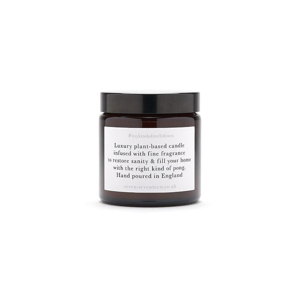 All The Love - Black Pomegranate Scented Candle - Seven Seventeen