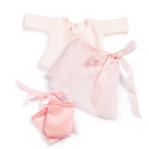 Organic Handmade Toys/Outfits - Hazel Village - Ballet Outfit - How I Wonder.co.uk