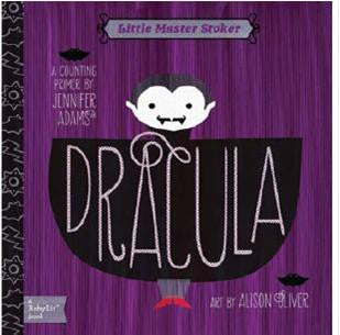 Dracula - Babylit - Board Books for Toddlers - how-i-wonder
