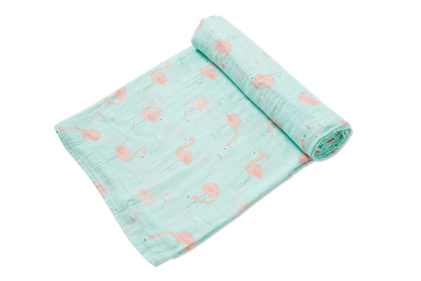 Angel Dear - Flamingo - Swaddle